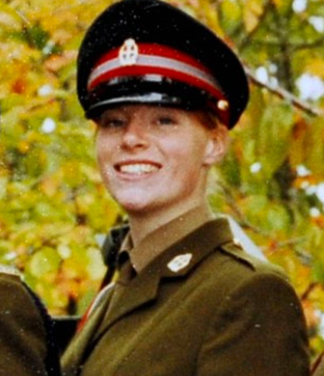 Hannah Campbell in uniform