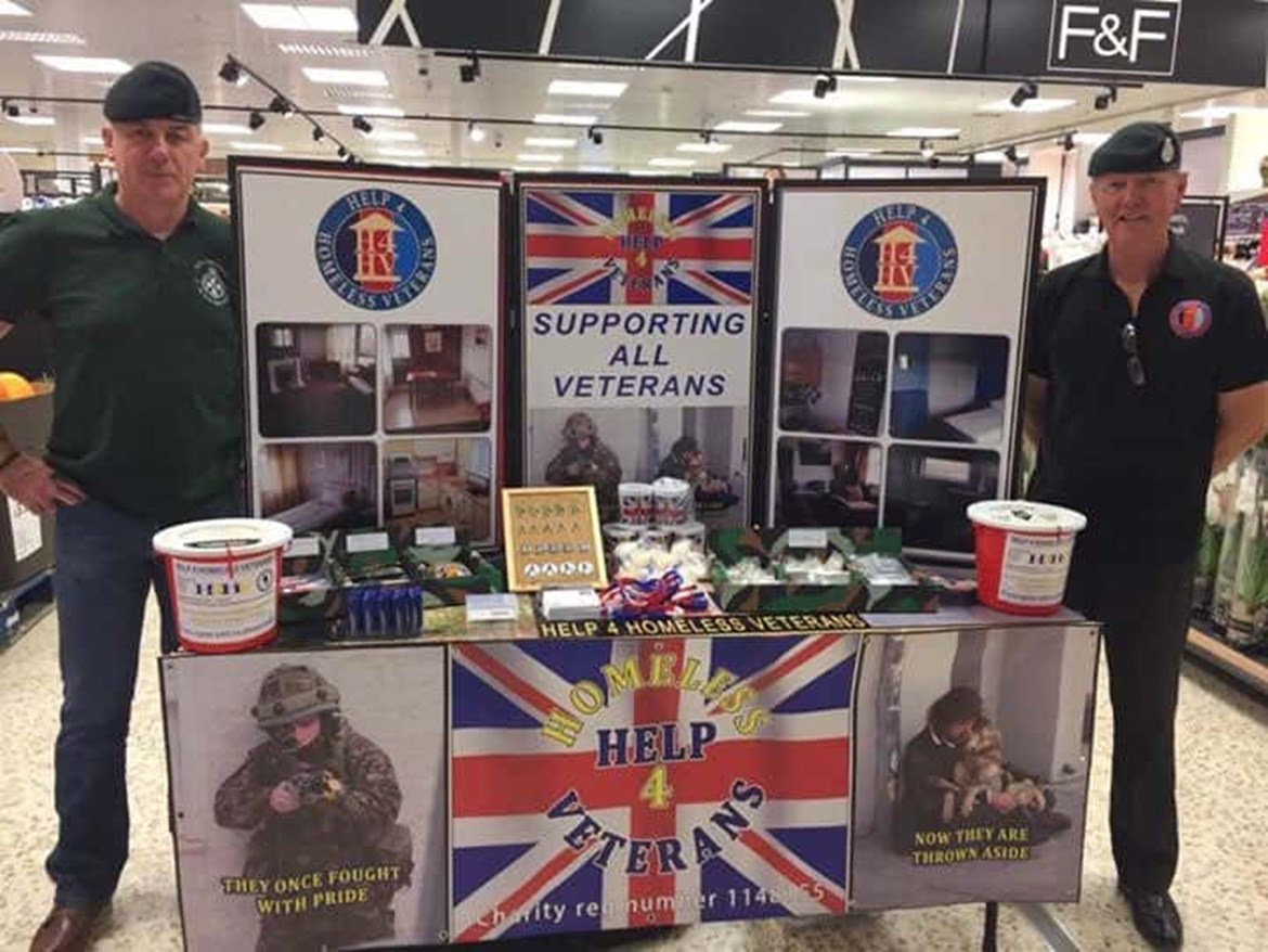 Veterans charity fundraisers